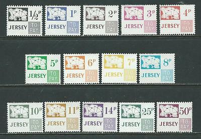 JERSEY  1971  Postage Due.