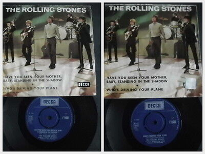 """Rolling Stones 7"""" Have you seen your Mother,Baby,standing in the Sha.(SW Rarity)"""