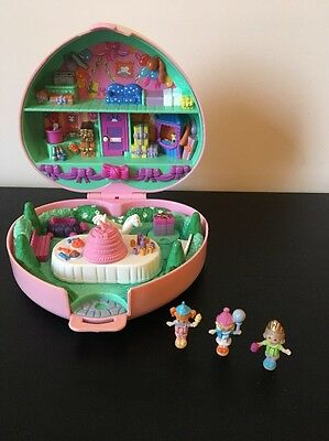 Vintage Polly Pocket, Partytime Stamper, Birthday Party Playset, 100% Complete.