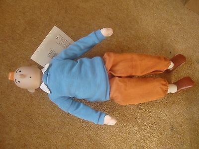 "1994 Tintin - VFG by Gund - 15"" (37cm) tall - new with tag - rare item"