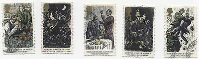GB Stamps 1784-1786. 1993 Sherlock Holmes. Centenary Single Stamps Used