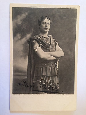 Original Hand Signed Autograph - Lewis Waller as Brutus - Actor/Theatre Manager