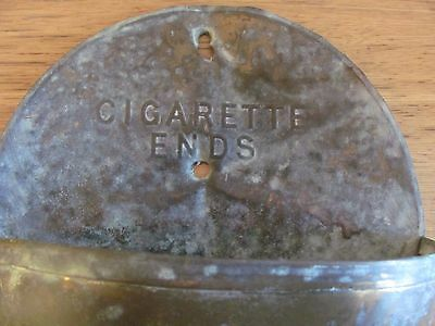 Vintage cigarette ends wall hanging ash tray