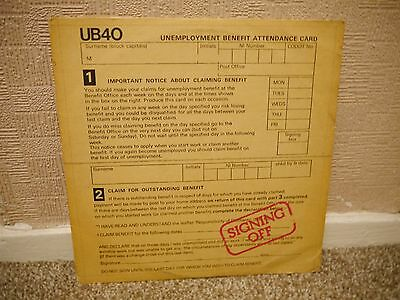 "Ub40 - Signing Off - Rare Orig 12"" Vinyl Lp - + 12"" Vinyl Single"