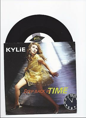 Kylie Minogue Step Back In Time Original Single From Holland