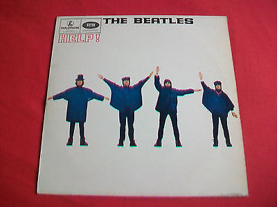 The Beatles - Songs From The Film Help - Uk Lp - Pcs 3071 - Excellent-Parlophone