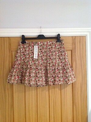 BNWT Girls Beige, Pink & White Short Skirt Size 16 Years from M&S