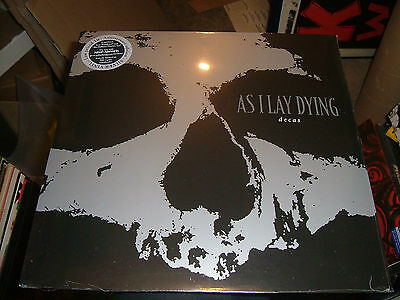 As I Lay Dying.decas.silver Vinyl Album New Sealed