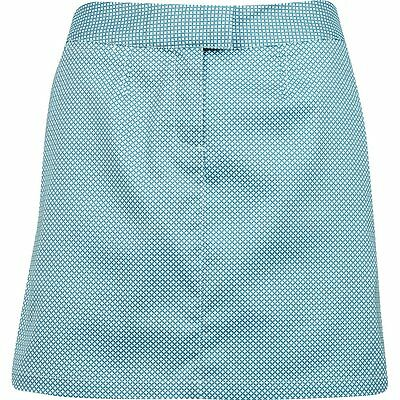 Womens Puma Drycell Diamond Tech Blue Coral/Clearwater Golf Shorts