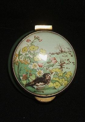 Staffordshie Enamel Box - Country Diary Of Edwardian Lady April