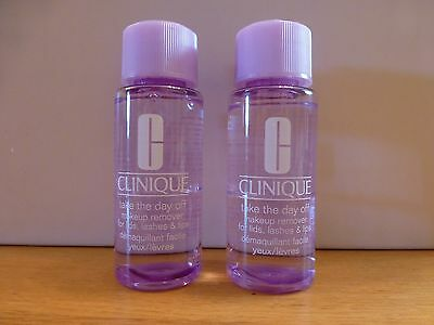 Clinique Take the Day Off Make up Remover. Brand New. 100ml (2x50ml)