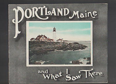 Portland Maine and What I Saw There 1927 Chisholm Brothers