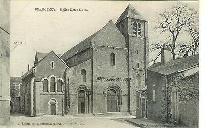 CPA 45 BEAUGENCY, Eglise Notre Dame.