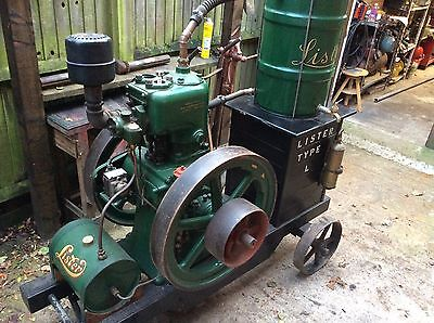 Lister L Stationary Engine 1924 5hp