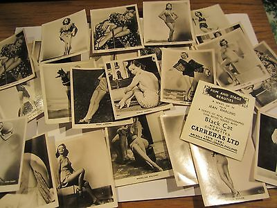 """CARRERA'S """" FILM AND STAGE BEAUTIES 1939""""  ODDS [s]"""