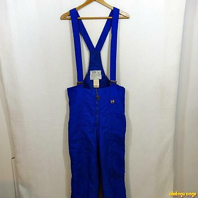 PROFILE Nylon Ski Bibs Bib Overalls Mens Size M Blue insulated
