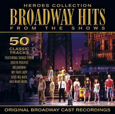 Original Cast Recordings : Heroes - Broadway Hits from the Shows CD