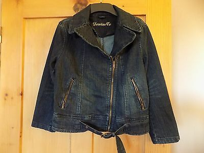 Girls denim jacket age 12-13 years