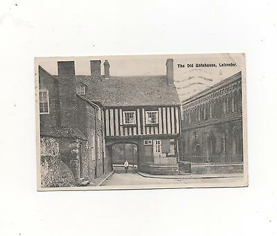 The Old Gatehouse,Leicester,PPC 1937 (E.T.W.Dennis)