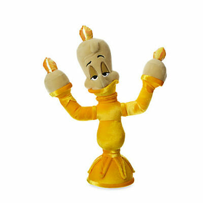 Lumiere Soft Toy Doll Disney plush Beauty and the Beast Candlestick New