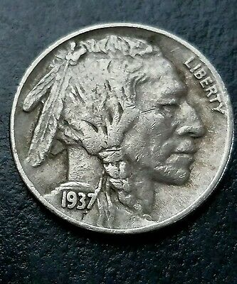 1937 Buffalo Nickel, with CHOICE EF Details!