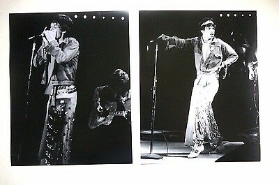 Rolling Stones Mick Jagger  Large Photographer's Proof Print Photo Set