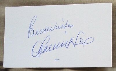 FRANCIS LEE Signed Card WORLD CUP 1970 Player ENGLAND Autograph MANCHESTER CITY