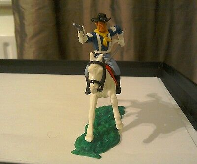 Vintage Timpo Mounted Cavalry White Gloved