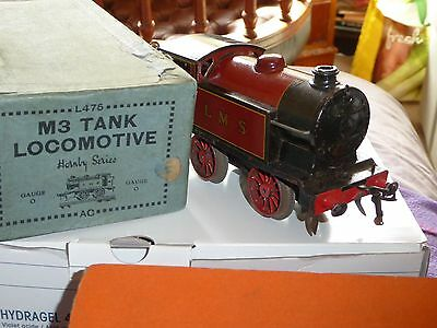Vintage Hornby  M3 Boxed Tank With Guarentee.and Key Very Near Mint Condition