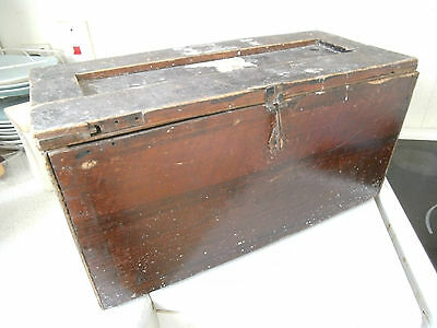 Vintage Wooden Box  / Crate - Tools / Ammunition- 23 X10 X 9 Inches