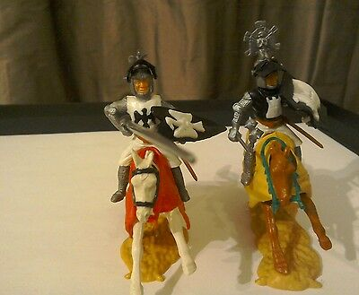 Vintage Timpo Mounted Helm knights