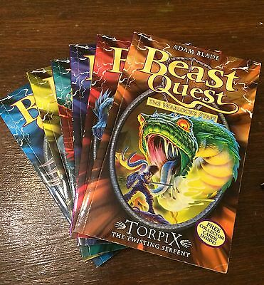 Beast Quest Books  series 9 [49 to 54]