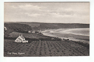 Cottage And House Croy Shore Maybole Ayrshire Early 1900's Old Postcard Unposted