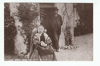 Tibbie Shiel (Died 1878) And Her Son Wullie The Inn St Mary's Loch Selkirk RP