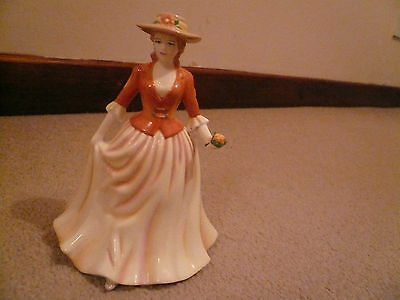 Royal Doulton bone china hand made and hand decorated Autumn Stroll