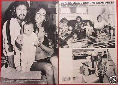 Bee Gees Barry Gibb Robin Maurice 1978 Clipping Japan Magazine Ml 7A 3Page