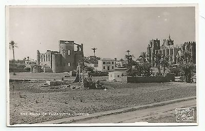 POSTCARD-CYPRUS-RP. The Ruins of Famagusta.