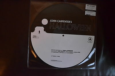 "John Carpenter Halloween/ Escape from New York 12"" Picture Disc Limited Edition"