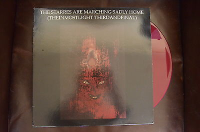 Current 93 The Starres Are Marching Sadly Home LP
