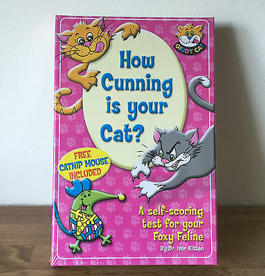 Great Xmas Stocking Filler: How Cunning is Your Cat? Catnip Mouse & Test Booklet