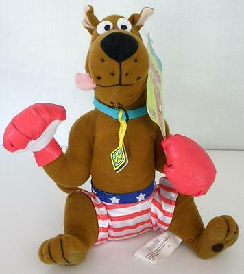 "Hanna Barbera Scooby Doo USA Boxer Plush With Tag By Toy Network 9"" Tall"
