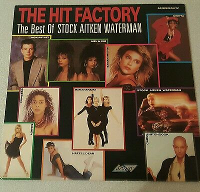 the hit factory best of stock, aitken and waterman LP