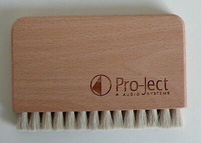"* Project - ""vcs-Brush"" - Lp Reinigungsbürste -Ziegenhaar-Bürste - Goat Brush *"