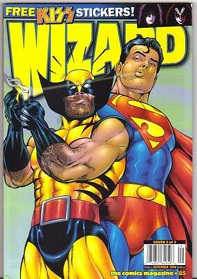 Wizard The Guide To Comics #85 Wolverine FN/VFN (1998) Wizard Publications