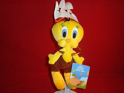 Warner Bros Studio Stores-Tweet Bird-As Native American-11 Inches-New/tags-Cool