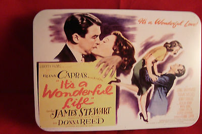 Its A Wonderfull Life-Frank Capra-Set Of Two Decks In Poster Artwork Tin-New