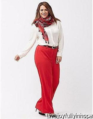 LANE BRYANT ~ NEW! 26 or 28 ~ ASHLEY LENA T3 Tighter Classic Tummy Trouser Pants