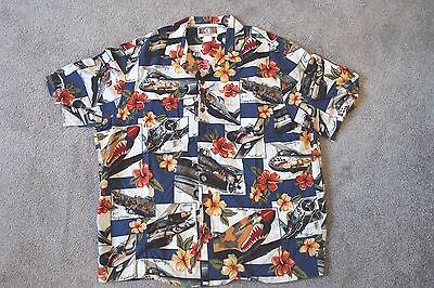 E Vintage Hawaii Shirt  Xl Hawaiian Kalaheo
