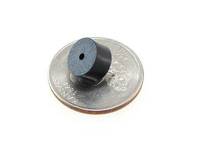 HQ Small Size Round 5VDC buzzer with built in oscillator - Pack of 5