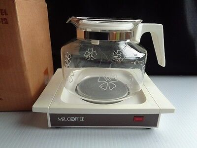 Mr  Coffee Nib Model Wd-12 Carafe W/ Hot Plate Warmer